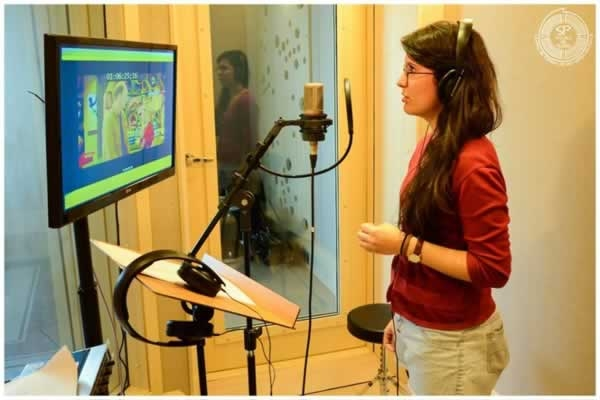 Mulheres podem fazer dublagens de filmes (Foto: Divulgação Escola de Teatro)