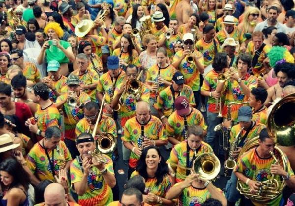 Festa de Carnaval em Florianópolis (Foto: MdeMulher)