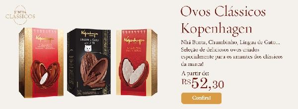 Presentei com chocolates Kopenhagen e faça as pessoas felizes (Foto: Kopenhagen))