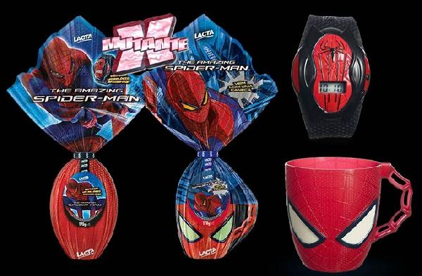 Ovo Spiderman 170 gm (Foto: Americanas)