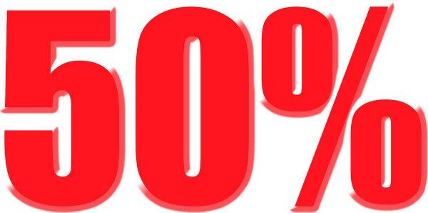 Descontos de até 50% em alguns estabelecimentos