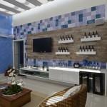 Um ambiente confortável com designe moderno