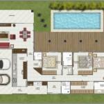 Conte com o trabalho de um arquiteto para construir uma casa em L. (Foto: Divulgação)