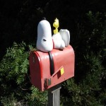 Caixa de correio Snoopy