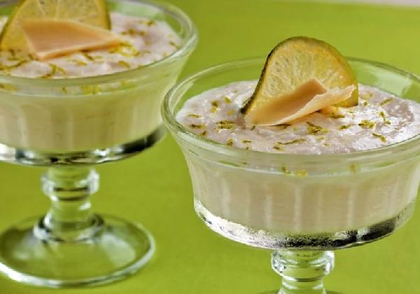 Mousse de Limão para sobremesa (Foto: MdeMulher)