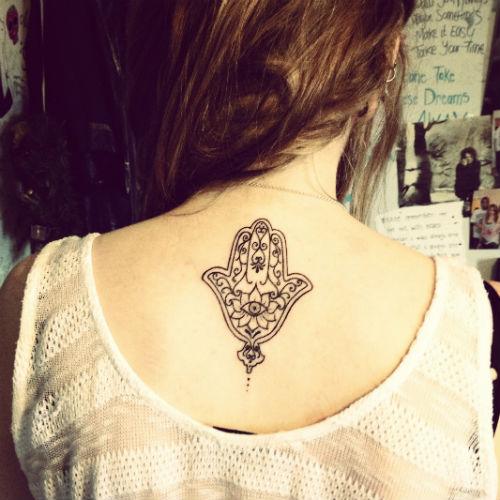 Fotos de Tatuagens Femininas nas Costas 5