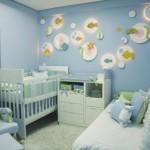 É necessário também pensar nas paredes na hora de decorar. (Foto: Divulgação)