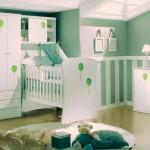 Algumas mães preferem o verde para decorar o quarto do bebê. (Foto: Divulgação)