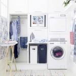 A área de serviço pode ser um lugar agradável, limpo e organizado, escolha a melhor decoração conforme as suas necessidades