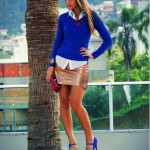 Sapato Azul Combina Com Que Roupa
