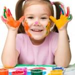 Como Fazer Pintura em Rosto Infantil 1