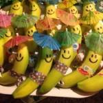 Bananinhas prontas para a festa. (Foto: Divulgação)