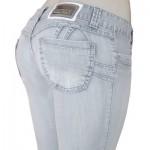 Macacão Jeans Feminino Sawary-
