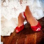 Sapatos Vermelhos para Noivas Dicas