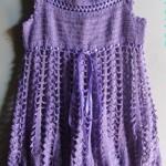 Vestidos em crochê moda feminina