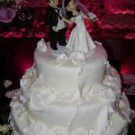 bolo cenografico de casamento