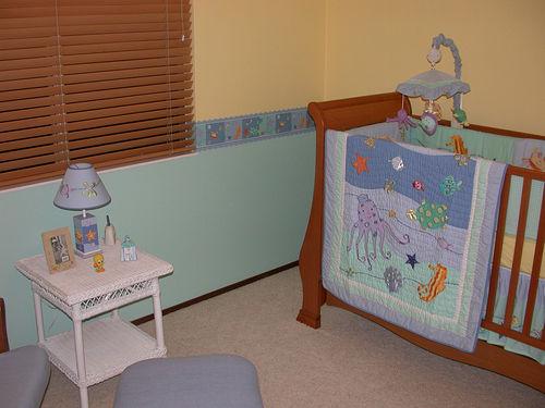 decoração barata para quarto de bebe