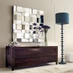 decoração com espelhos sala, quarto, parede, fotos 2