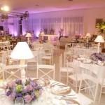 decoração de casamento em lilás 1