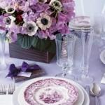 decoração de casamento em lilás