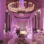 decoração de casamento em lilás 2