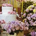 decoração de casamento em lilás 3