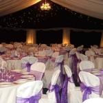 decoração de casamento em lilás 7