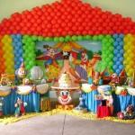 decoração de festa infantil circo 1
