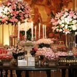 decoração romantica para casamento