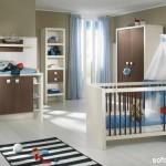 Outra opção de quarto de bebê masculino com outros tons além do azul. (Foto: Divulgação)