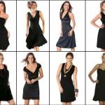 Existem muitos os modelos de vestidos pretos curtos, escolha o seu e não fique na dúvida quanto tiver que compor um look básico e ao mesmo tempo bonito. (Foto: Divulgação)