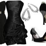Você também pode curtir uma noite requintada com seu vestido pretinho curto. (Foto: Divulgação)