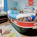 O barco deixa o quarto com uma roupagem totalmente diferenciada. (Foto: Divulgação)