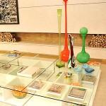 Decoração com móveis de vidro
