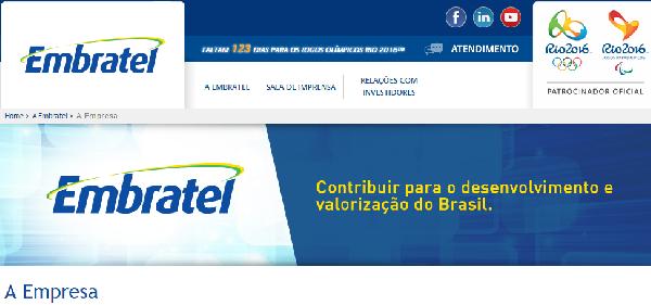 A Embratel tem a melhor banda larga do Brasil (Foto Divulgação: Embratel)