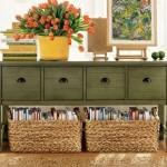 decoração com a cor verde 2