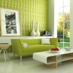 decoração com a cor verde 4