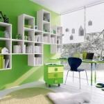decoração com a cor verde 7