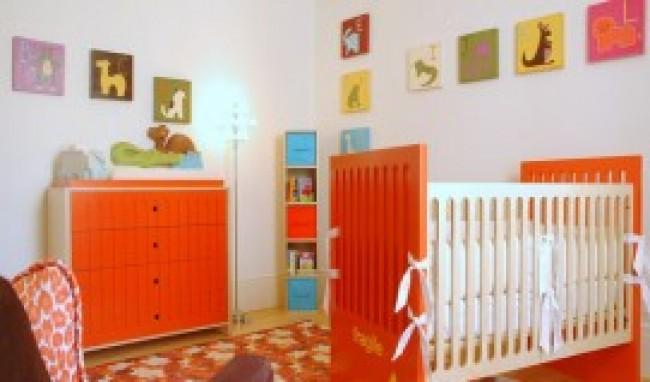 Decoração em quarto de bebê