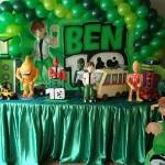 Decoração do Ben 10