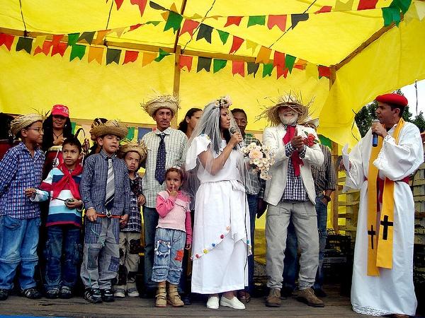 Casamento caipira a diversão da Festa Junina (Foto: Divulgação)