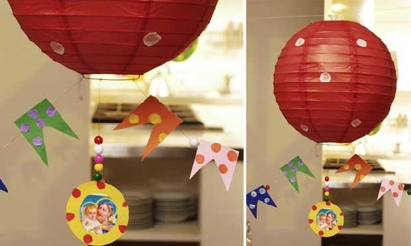 A festa é temática, portanto a decoração é condizente com o tema (Foto: Divulgação)