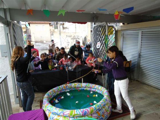 A pescaria é a melhor brincadeira da Festa Junina (Foto: Divulgação)