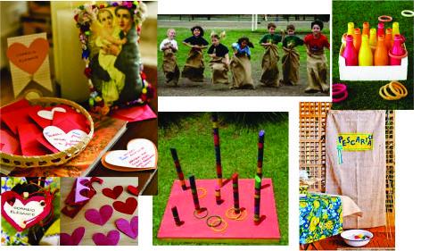 A Festa Junina é repleta de brincadeiras e atrações (Foto: Divulgação)