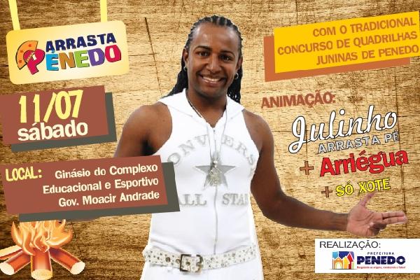 Penedo tem Festas Juninas com concurso de quadrilhas (Foto: Divulgação)