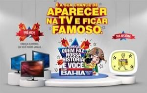 Promoção Quem Faz Nossa História é Você Casas Bahia