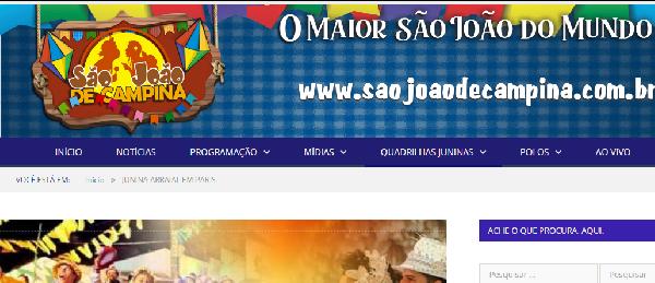 Campina Grande a melhor festa do Brasil (Foto: Divulgação)
