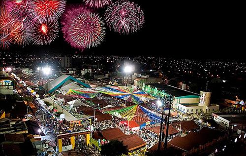 A festa é linda e atrai multidões (Foto: Divulgação)