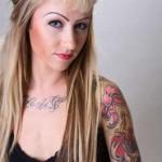 Tatuagem Feminina no Ombro Fotos (5)