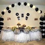 decoração anos 60 para festa